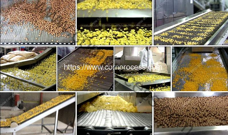 Automatic-Cereal-Corn-Flakes-Processing-Flow-Show