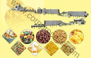 Automatic Cereal Corn Flakes Production Line