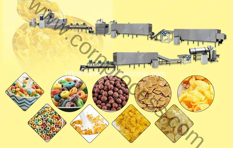 Automatic-Cereal-Corn-Flakes-Production-Line