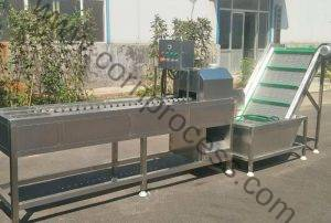 Automatic Corn Head Cutting Machine with Separating Function