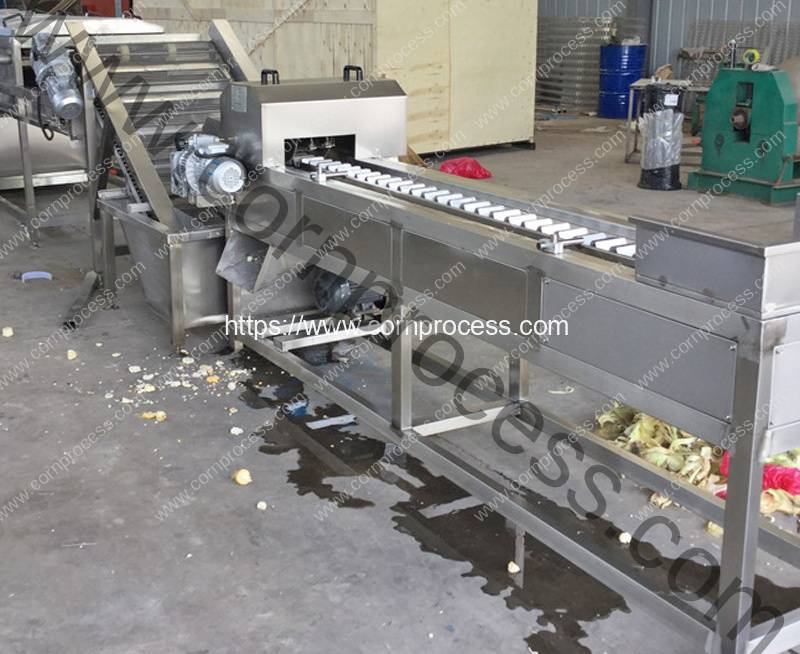 Automatic-Corn-Topper-Cutting-Machine-with-Separating-Function