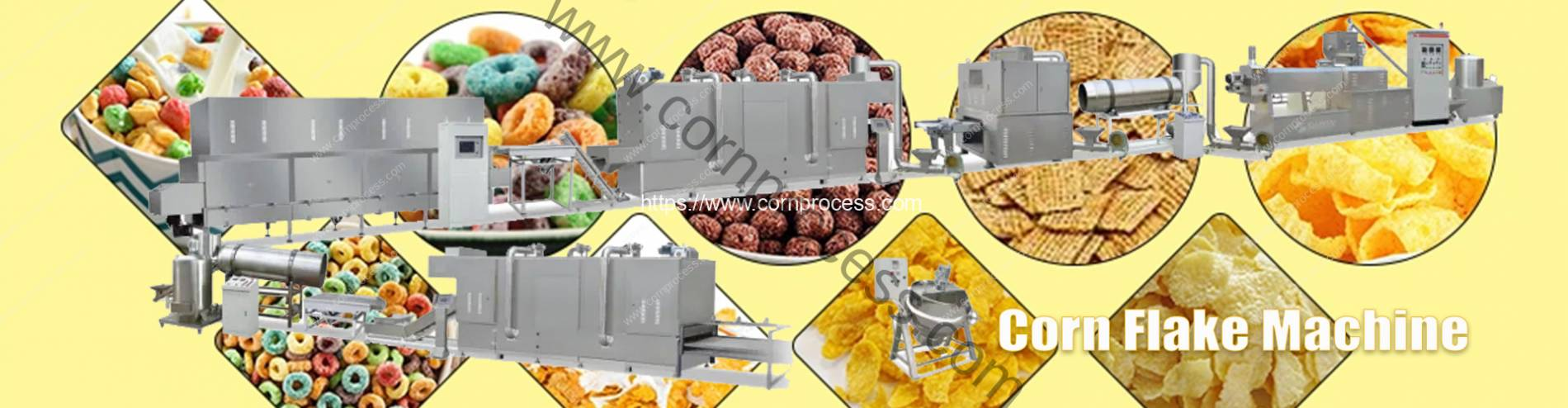 Automatic-Cereal-Corn-Flakes-Machine