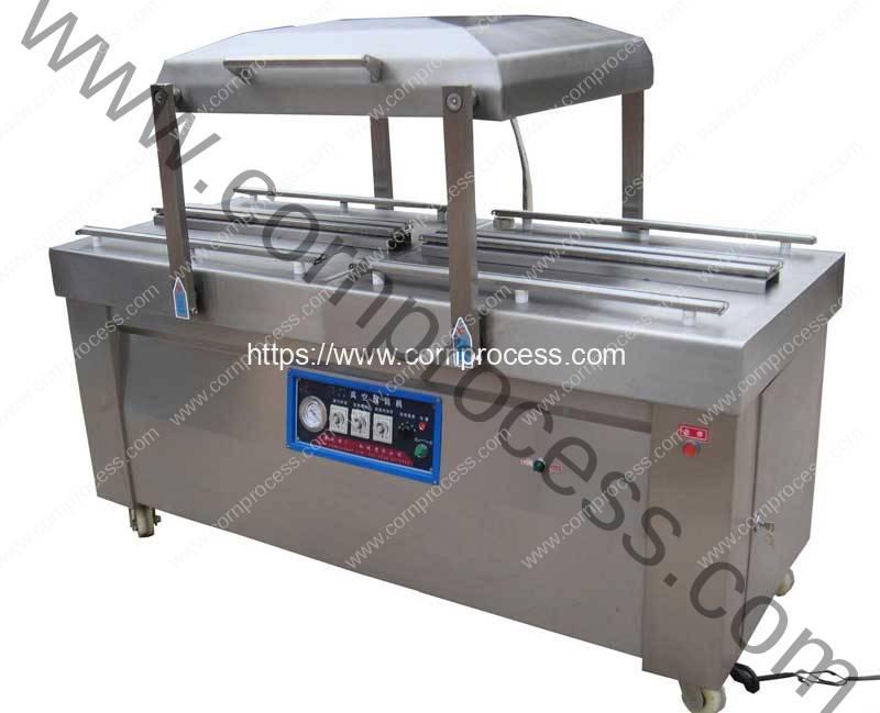 Double-Chamber-Corn-Vacuum-Packing-Machine