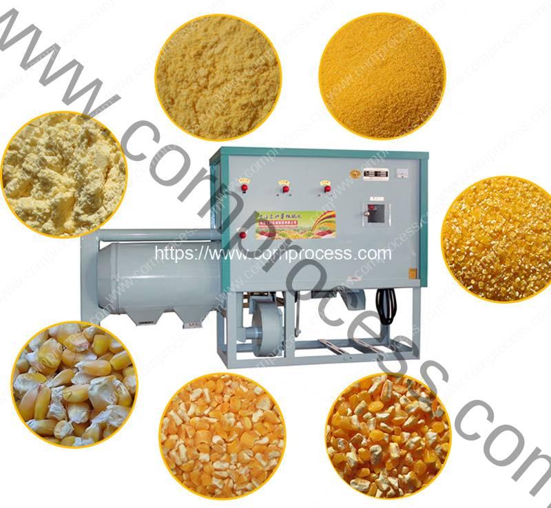 Automatic-500KGH-Corn-Grits-and-Corn-Flour-Grinder-Machine