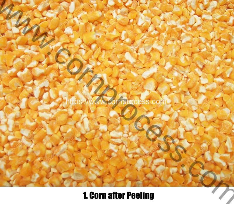 Corn-Grits-Peeling-Machine-Result