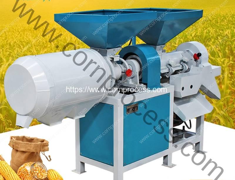 Small-Corn-Peeling-and-Corn-Grits-Grinding-Machine